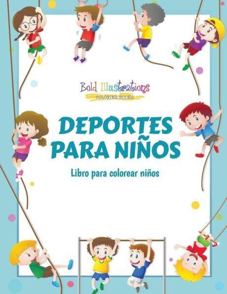 Deportes para niños: Libro para colorear niños | Products ...