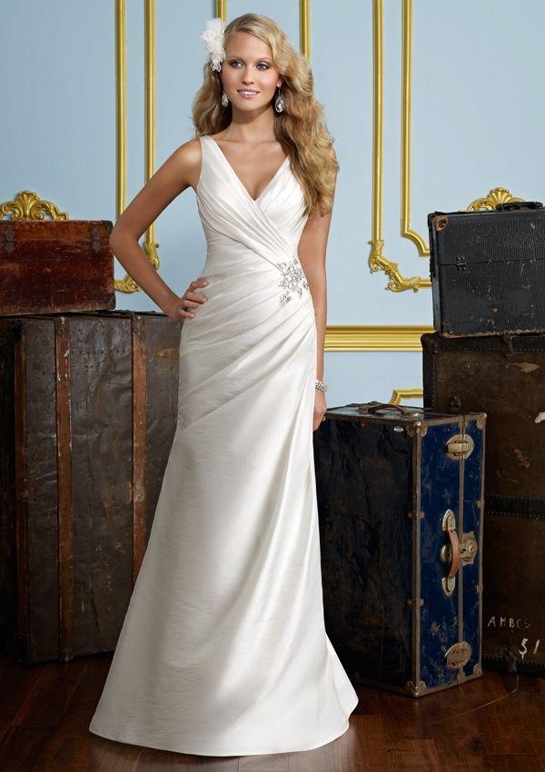 Officially My Dress Column Wedding Dress Ruched Wedding Dress Wedding Dresses