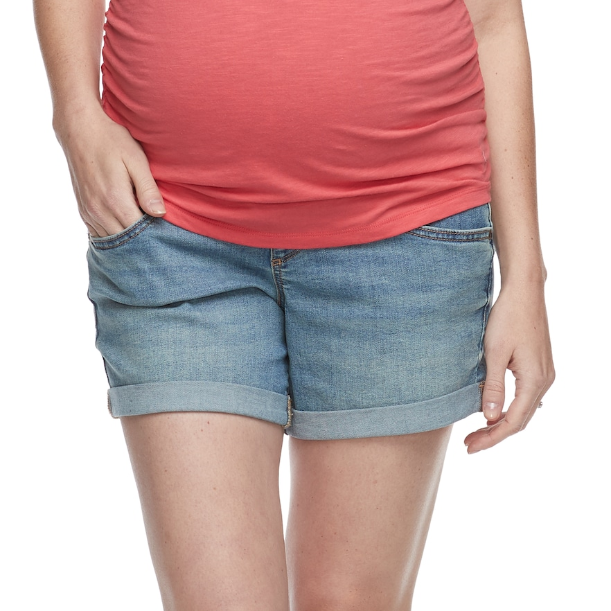 a glow Maternity Shorts Size Small Comfort fit-Breathability-Activewear