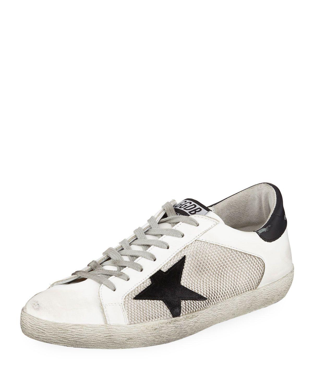 566dda5ab GOLDEN GOOSE MEN'S SUPERSTAR LEATHER SNEAKERS. #goldengoose #shoes | Golden  Goose in 2018 | Pinterest | Golden goose, Leather sneakers and Sneakers