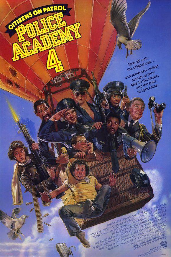 Police Academy 4 Citizens On Patrol Police Academy Police Academy Movie Movie Posters