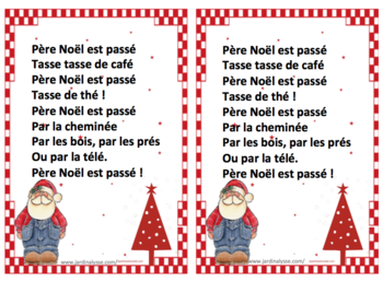 Comptines De Noel Cycle 1 Comptines De Noel Comptines Poesie Noel