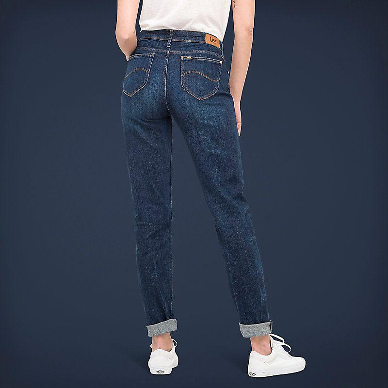 3a2b395d Women's Lee European Collection - Sallie Relaxed Fit Slim Leg Boyfriend  Jeans (Size 28 x 35)