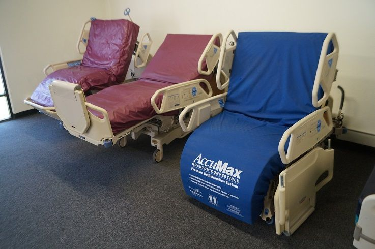 Hospital Beds Reconditioned Used Electric Hospital Beds For Hospitals Clinics Nursing Homes And Home Care Use Hospital Bed Hospital New Hospital