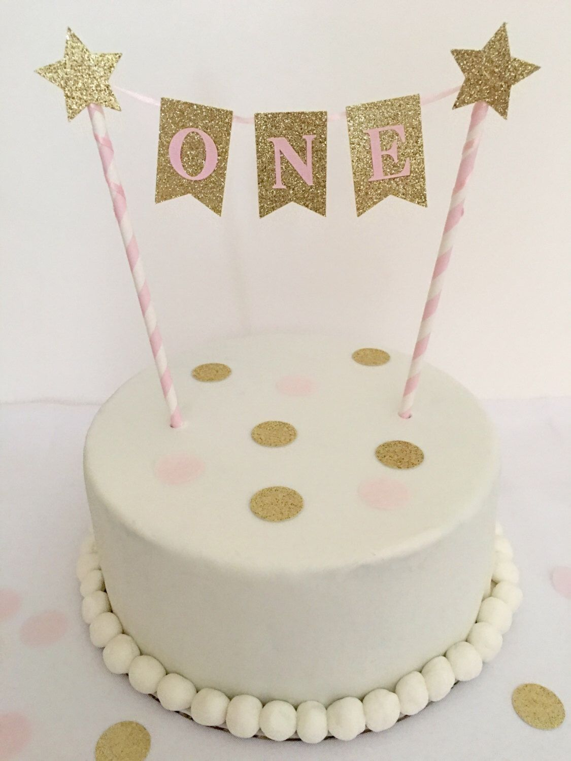 first birthday cake topper 1st birthday cake topper pink and gold birthday 4078