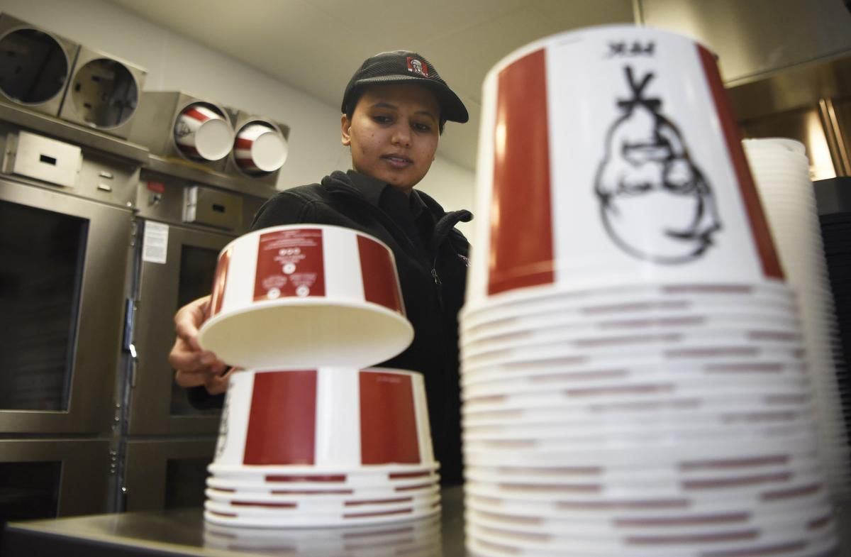 KFC hopes to avoid a hot mess with new bamboo buckets for