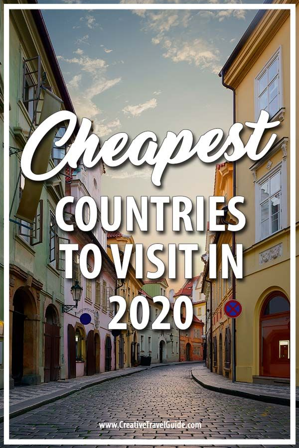 CHEAPEST COUNTRIES TO VISIT IN 2020 #vacationdestinations