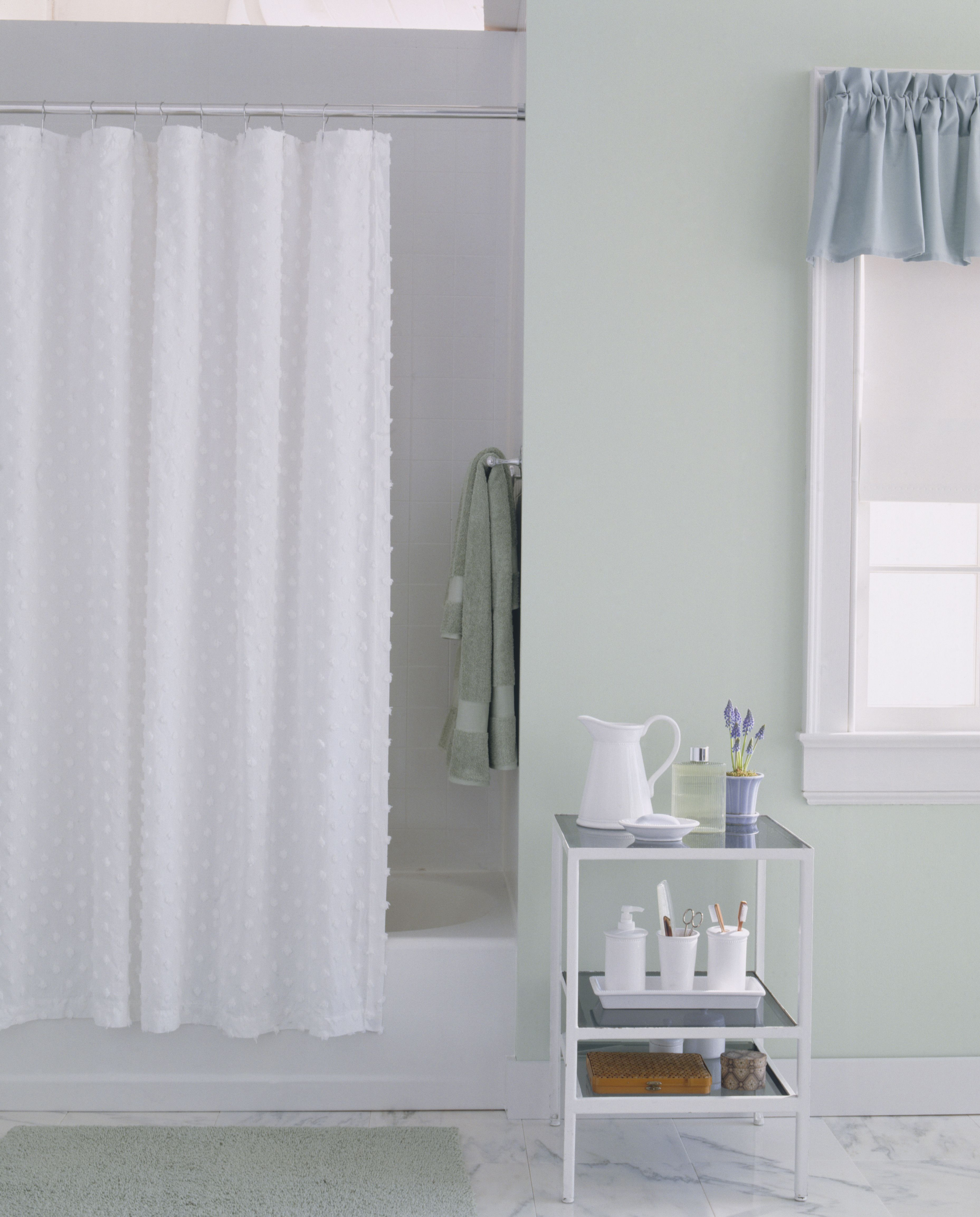 This Is How Often You Should Be Cleaning Your Shower Curtain Liner