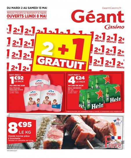Telecharger Le Dernier Catalogue Geant Casino 2 1 Gratuits Valable Du Du 02 X2f 05 X2f 2017 Au 13 X2f 05 X2f 2017 Geant Casino Casino Catalogue