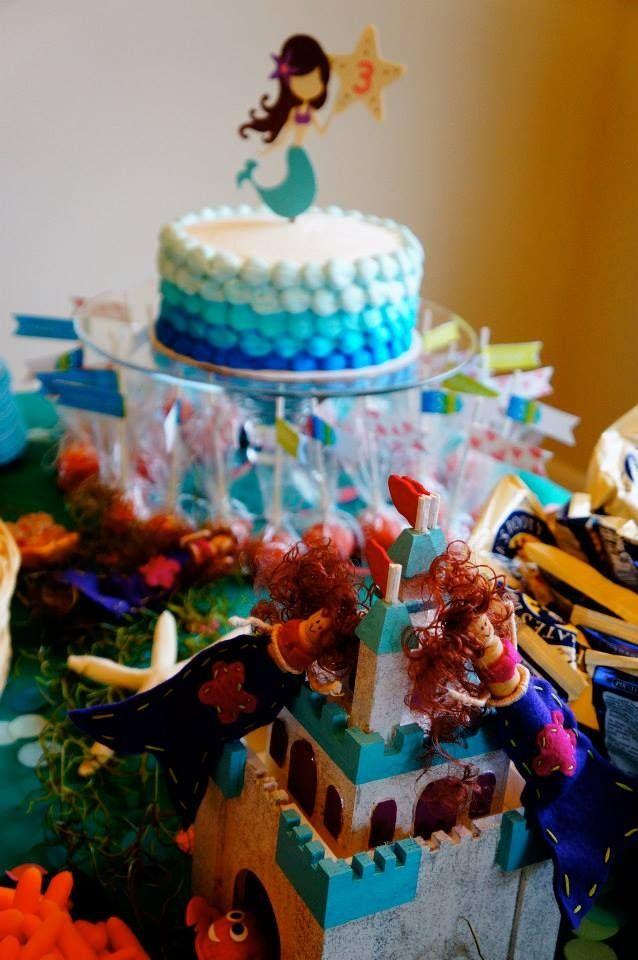 Marvelous Mermaid Birthday Party Mermaid Birthday Party Mermaid Pirate Funny Birthday Cards Online Sheoxdamsfinfo
