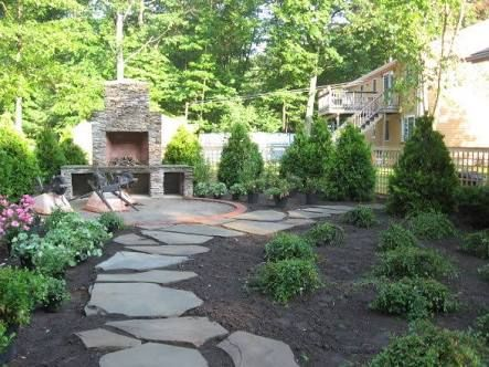 Image Result For Kid Friendly Backyard Without Grass Small Backyard Landscaping Backyard Grass Landscaping No Grass Backyard