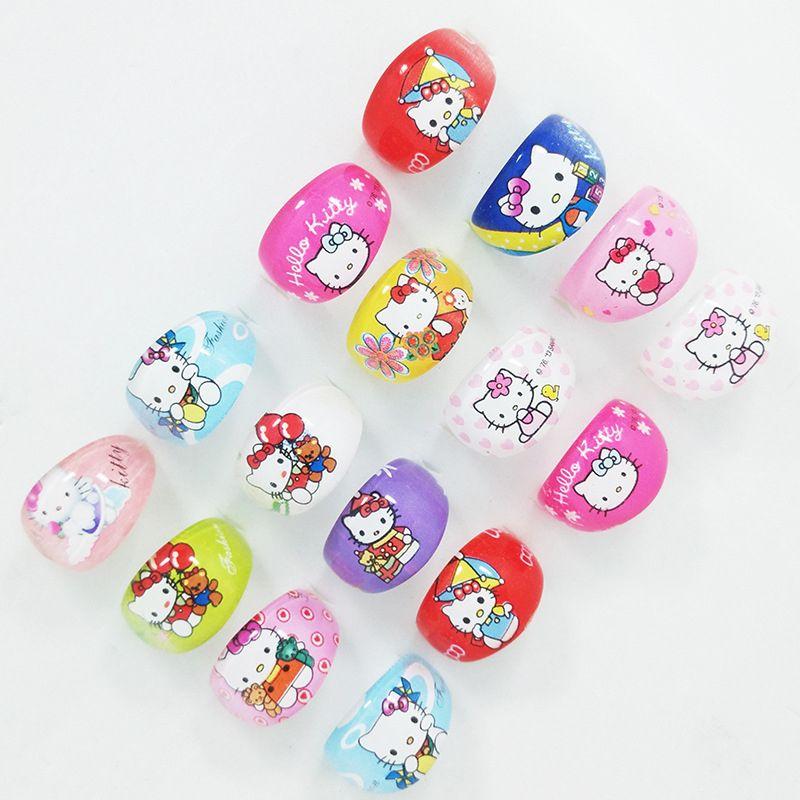04b0dedb8 10Pcs Hello Kitty Resin Plastic Rings KT Cartoon Ring For Lovely Children  Kid Boys Girls Wholesale Bulk Jewelry Mixed Lots BK401 //Price: $4.74 &  FREE ...