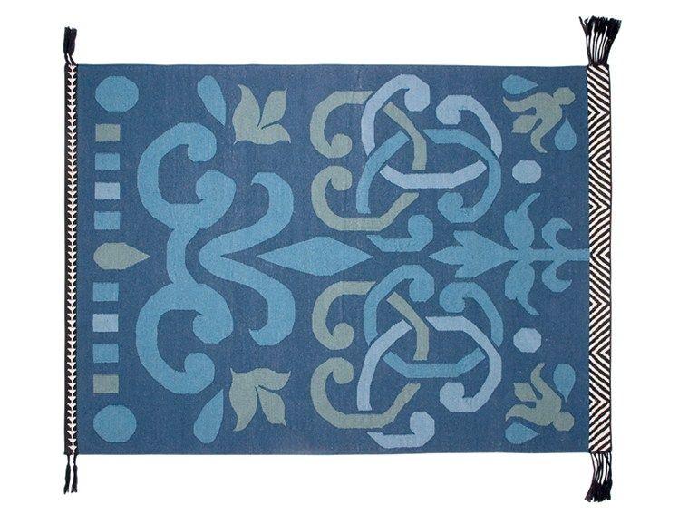 Rechteckiger Teppich aus Wolle ARABESCO VERDE by GAN By Gandia ...