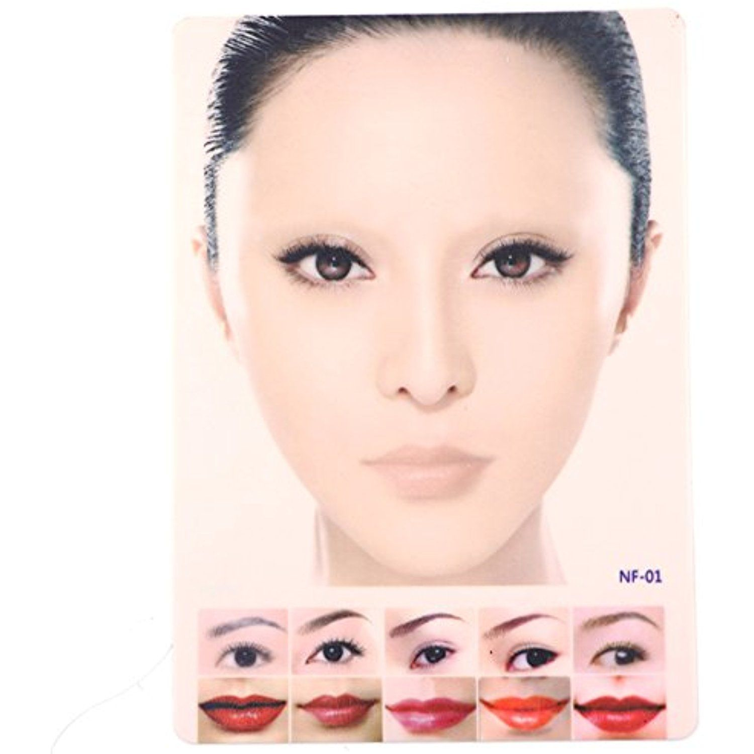FlyItem 1 Pcs Permanent Makeup Tattoo Practice Skin Colour