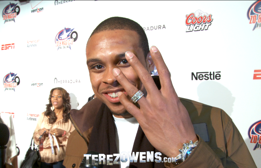 Shannon Brown wed Monica Brown His wedding ring is displayed on