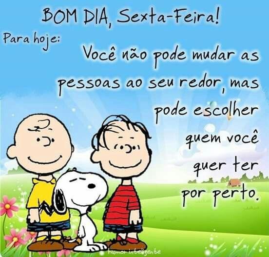 Tag Mensagem De Bom Dia Sexta Snoopy
