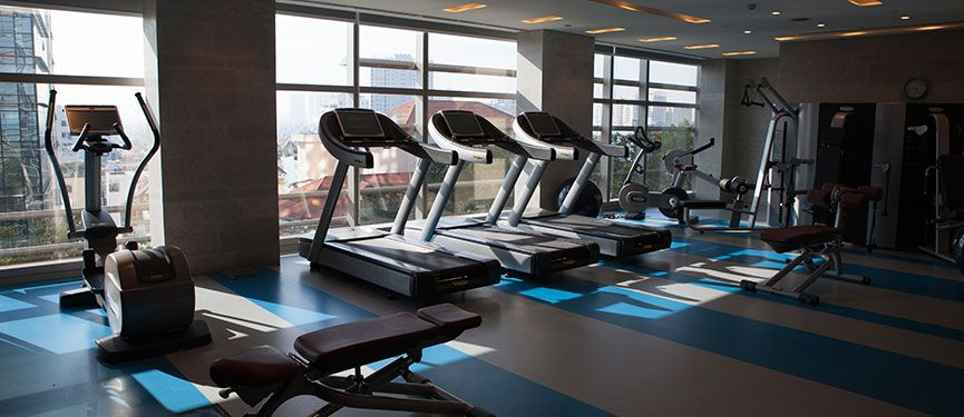 Complimentary use of the hotel's fitness center.