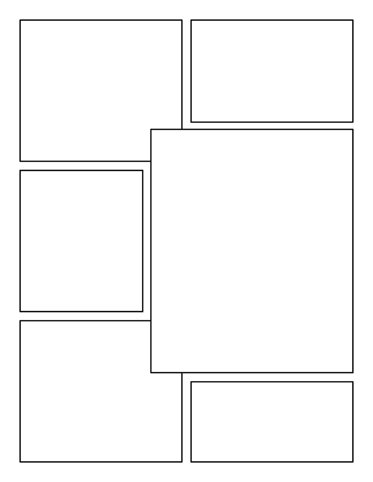 Blank Comic Book Panels  Graphic Novels    Comic