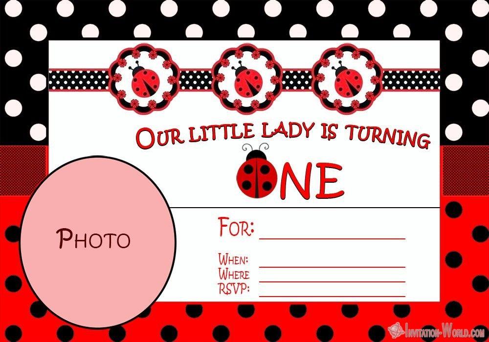 ladybug invitation templates - free download   invitation world   ladybug  birthday invitations, birthday invitations kids, ladybug invitations  pinterest