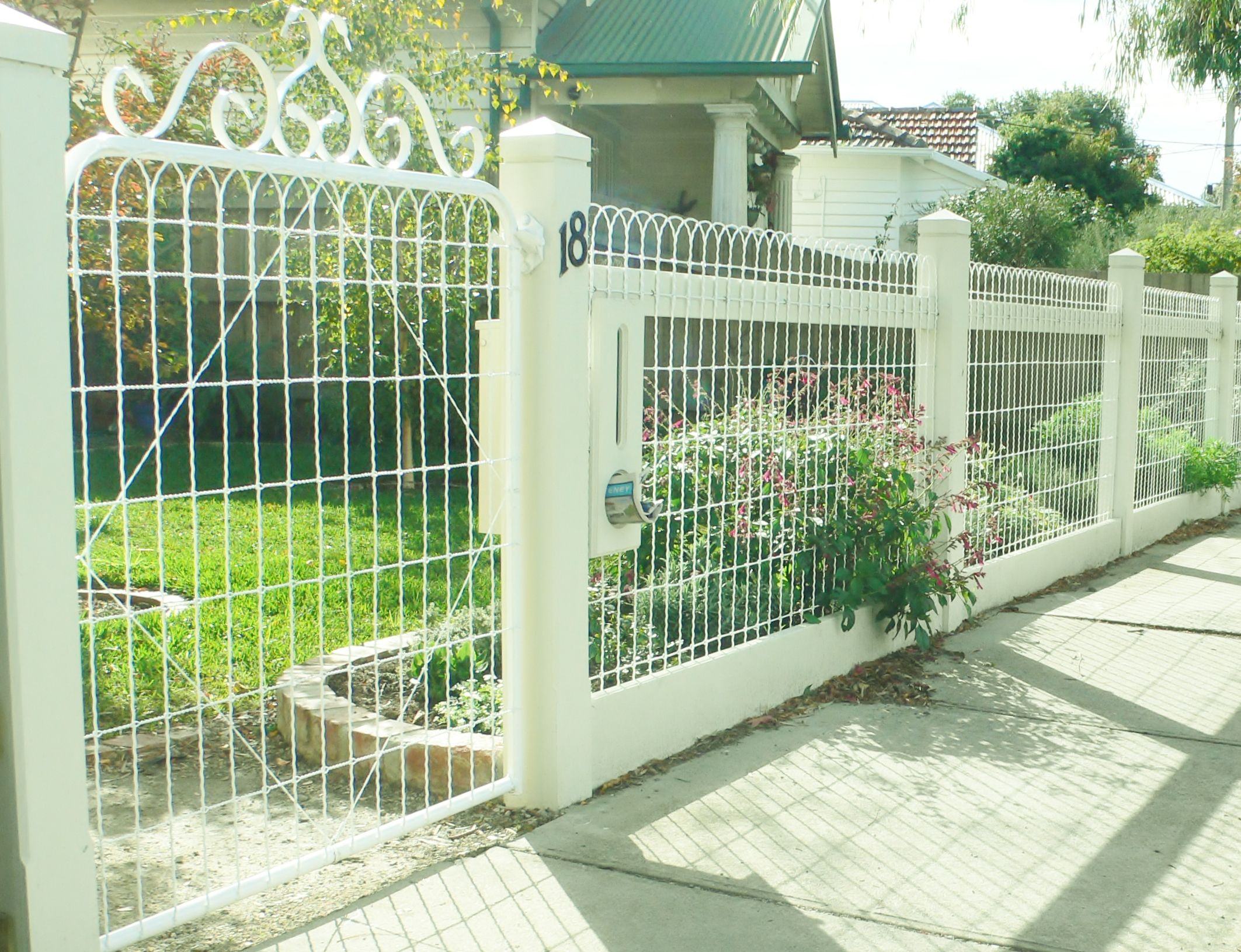 Decorative fence function 92