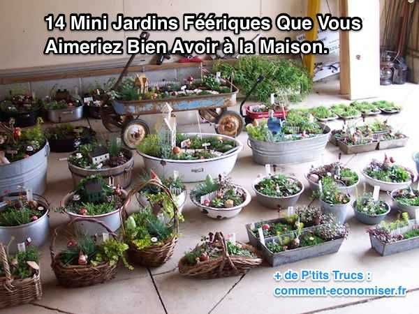 14 Jardins Miniatures Qui Vont Vous Faire Rêver. | Mes petites ...