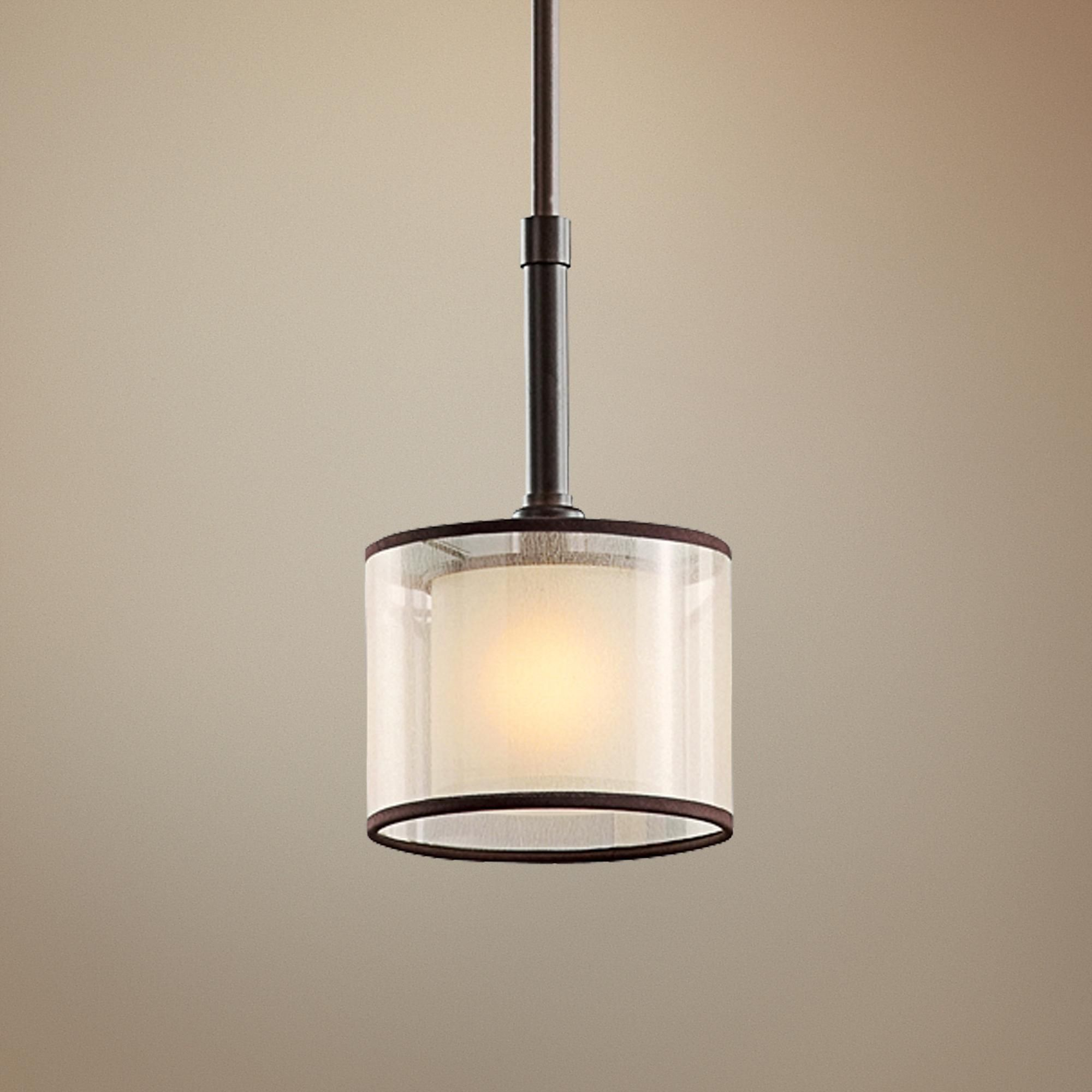 Kichler lacey collection mini pendant light style n mini