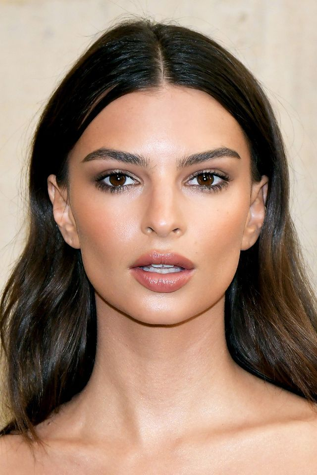 Photo of Ratajkowski is the queen of the smoky eye in all ranges. Here, hersubtlest tak…