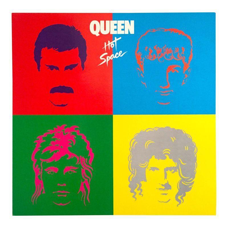1982 Queen Hot Space Elektra Records Promo Pop Art Poster Cool