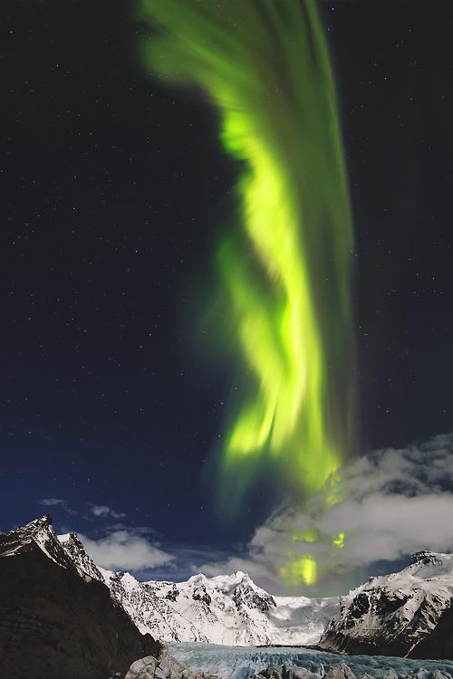 Svinafellsjökull, Iceland  