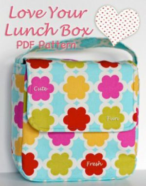 Download Love Your Lunch Box Sewing Pattern | Featured Products | YouCanMakeThis.com