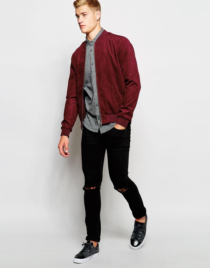New Look Faux Suede Bomber Jacket At Asos Com Bomber Jacket Suede Bomber Jacket Suede Bomber [ 1110 x 870 Pixel ]