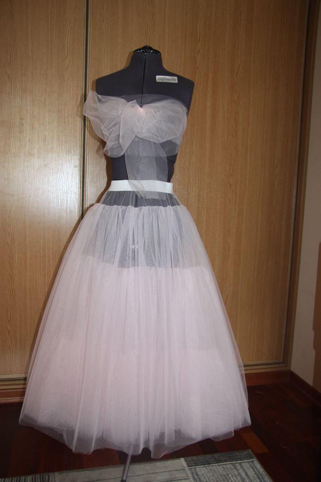 Подъюбник для детского платья своими