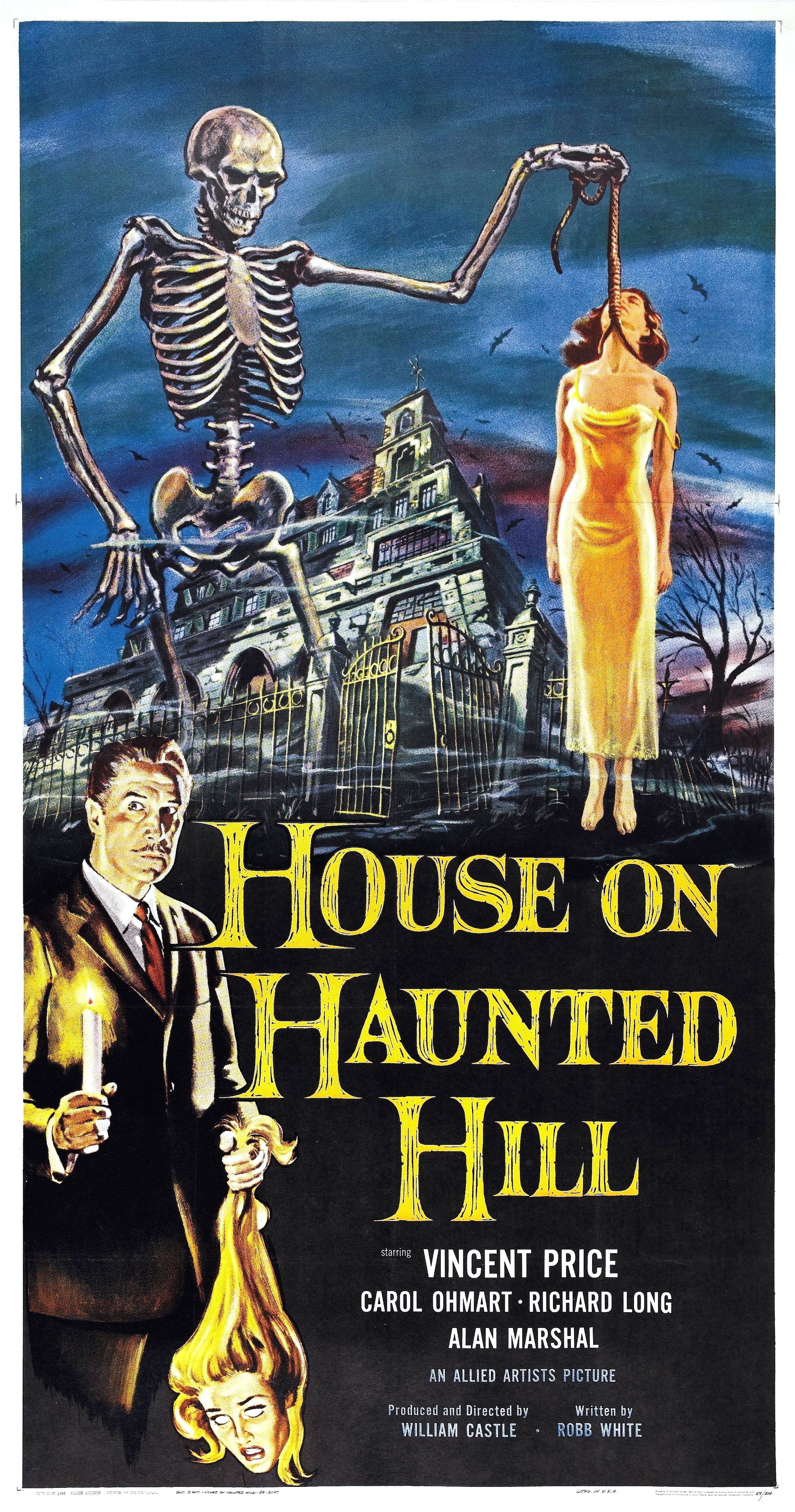 house on haunted hill Poster for House on Haunted Hill