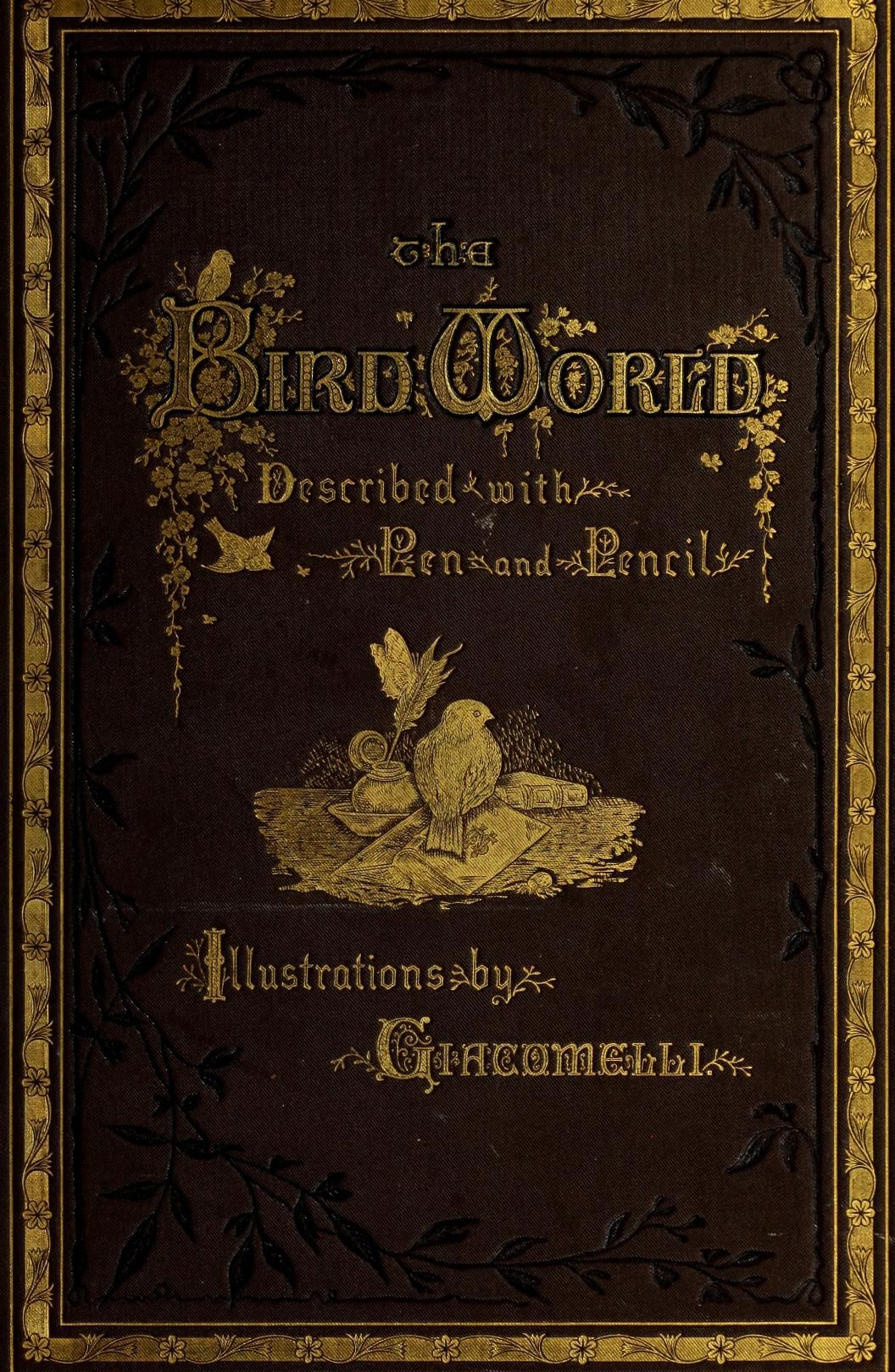 The bird world : described with pen and pencil