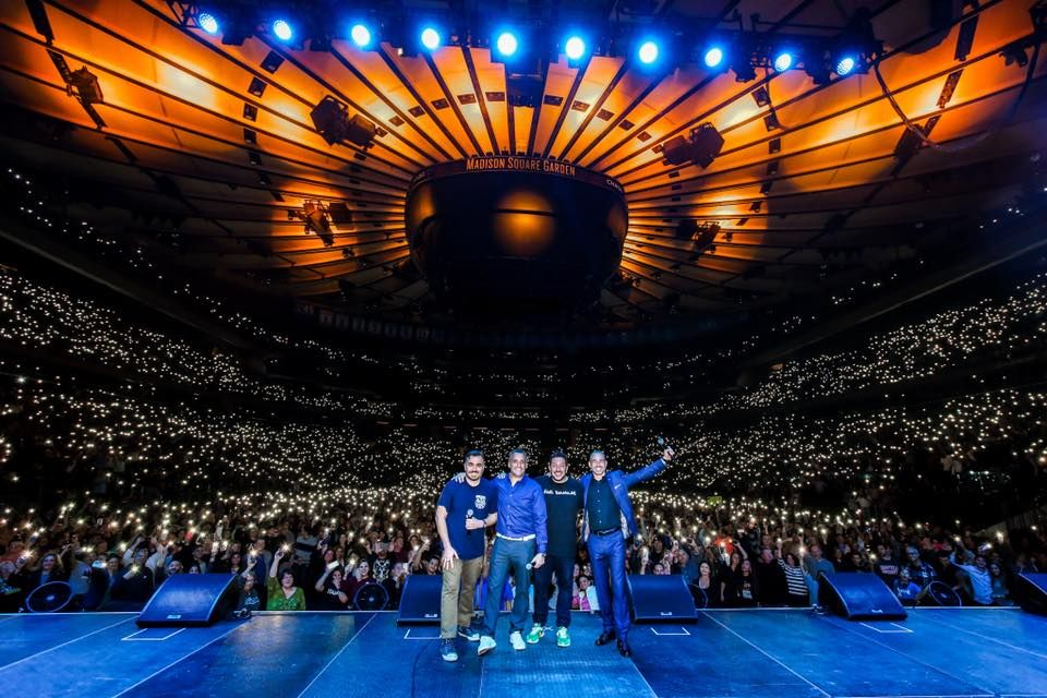 The Boys Madison Square Garden 3 Impractical Jokers Joker Laughter