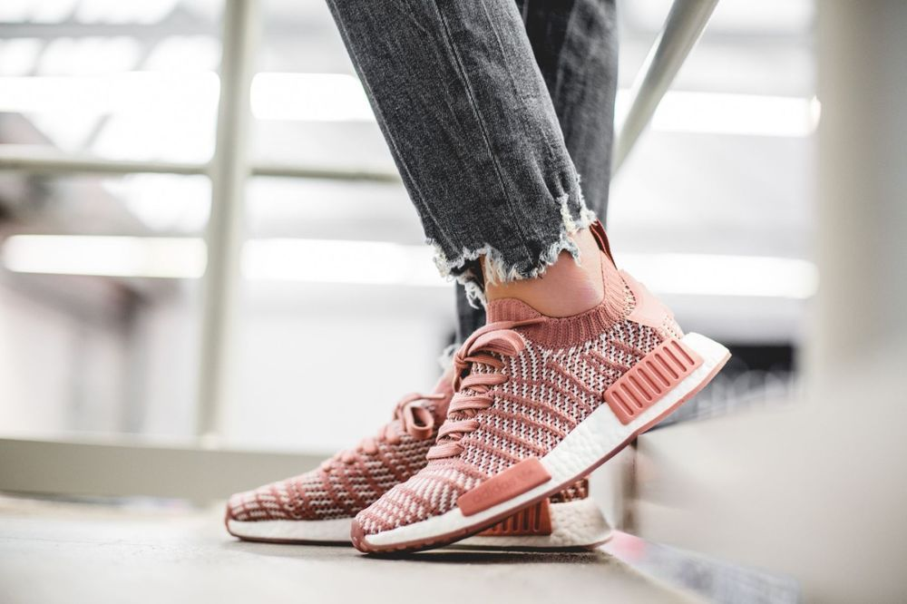 separation shoes f7ffe dcaa0 ADIDAS NMD_R1 STLT PK W ASH PINK, ORCHID & WHITE LIMITED ...