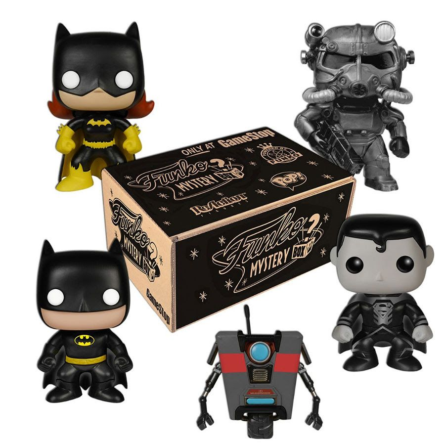 Funko Mystery Box Exclusive For Gamestop On Black Friday