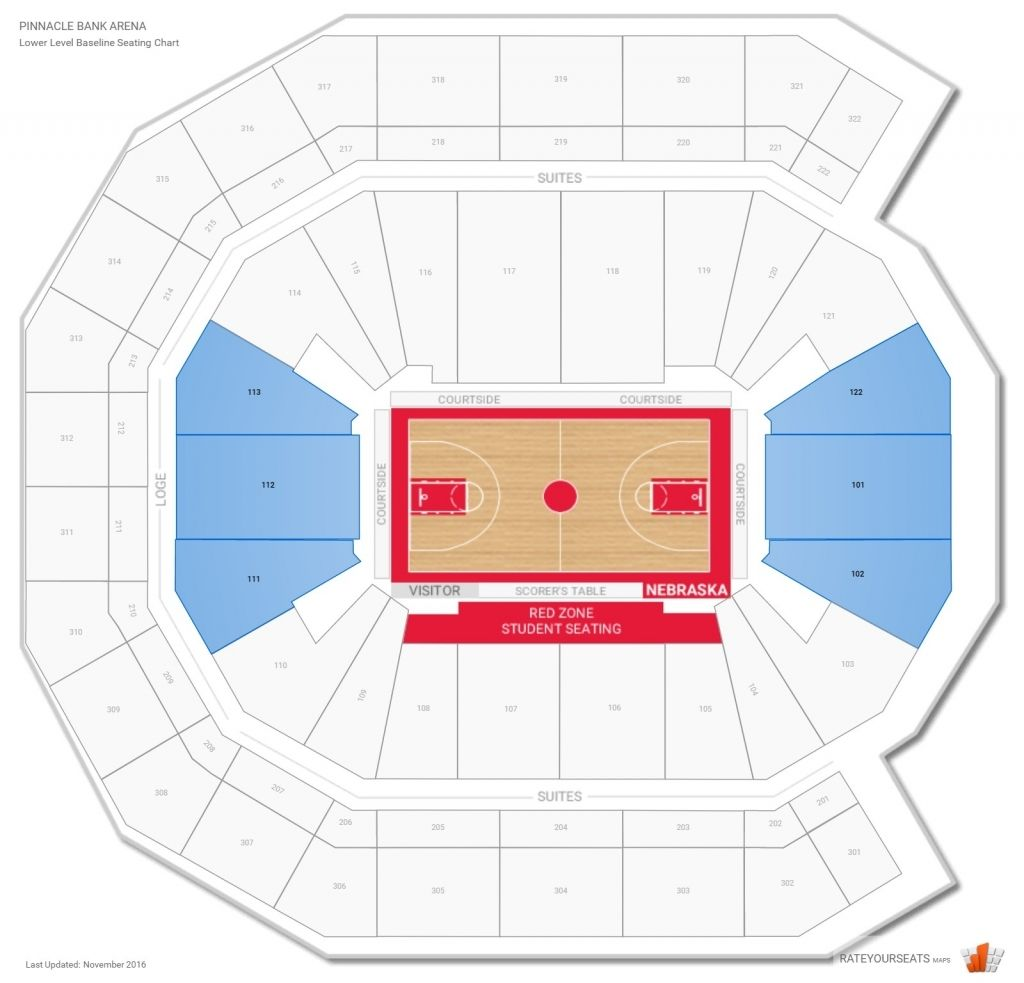 Pinnacle Bank Arena Nebraska Seating Guide Rateyourseats For Amazing In Addition To Beautiful Pinnacle Bank Seating Chart Pinnaclebankarenamen Sbasketballseat