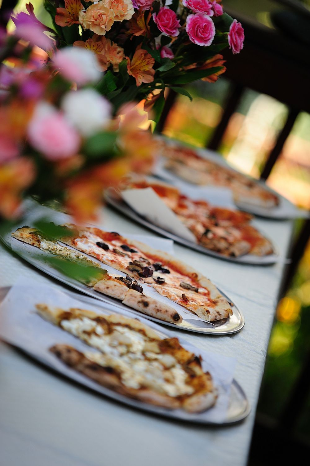 Pizza Buffet For Wedding Wedding Stuff Pinterest Buffet