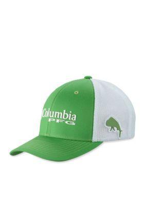 e97bee420da Columbia Men s Pfg Mesh Ball Cap - Green - L Xl