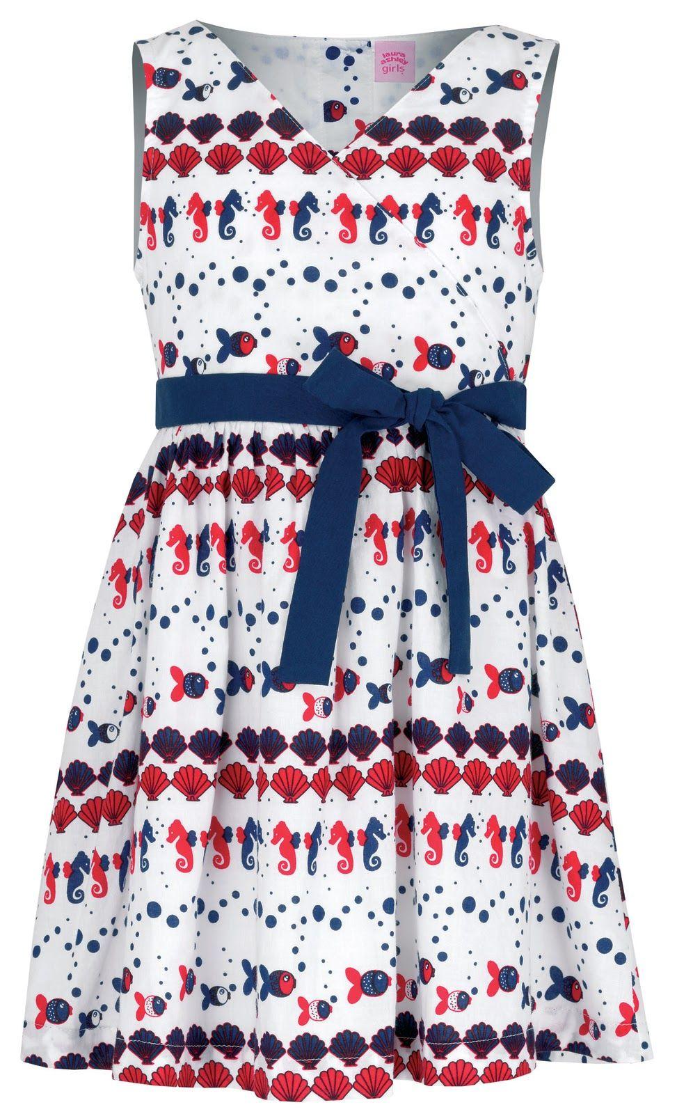 laura ashley seashore dress