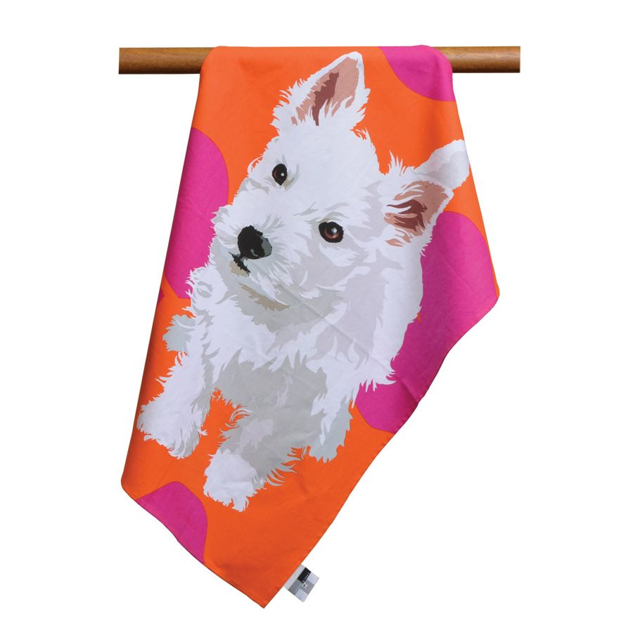 WestieTeaTowel (With images) Dog themed gifts, Westie