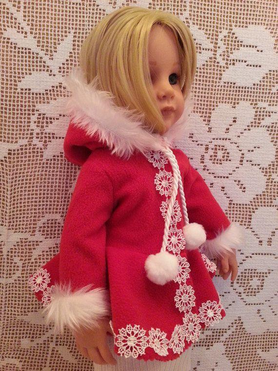 Salstuff Santa Christmas Fleece Coat with Fur Trim by SalStuffShop