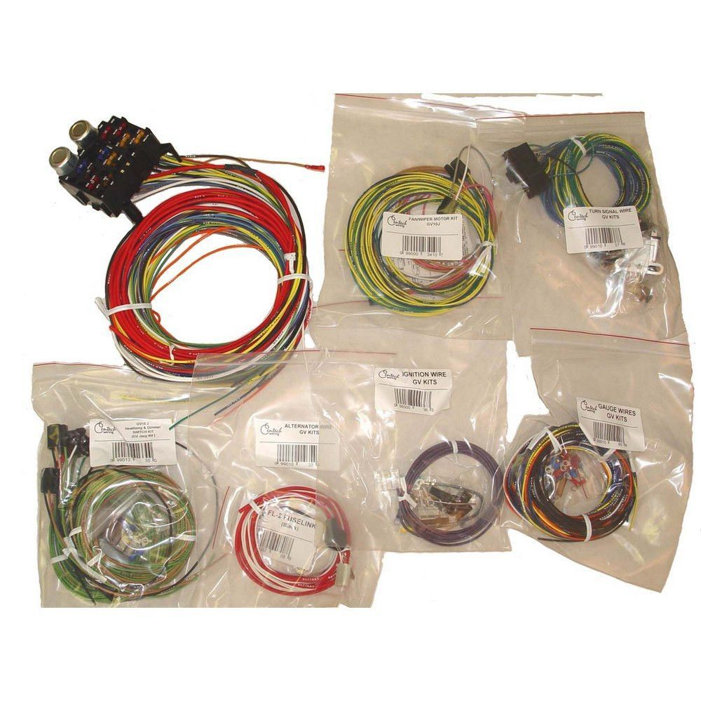 centech wiring harness 55 86 jeep cj models [ 1000 x 1000 Pixel ]