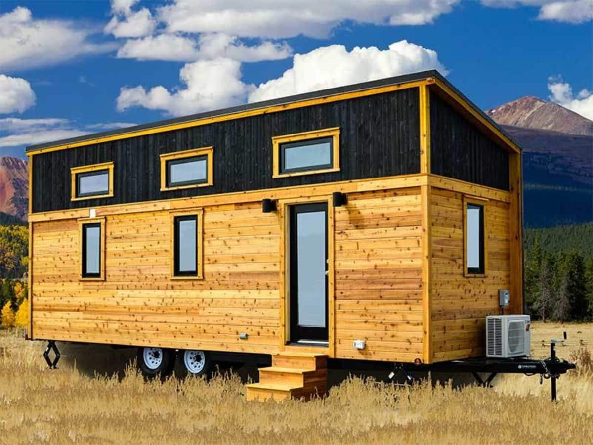 Best 2018 Tumbleweed Roanoke Tiny House For Rent In Colorado 400 x 300