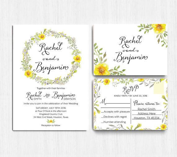 10 floral wedding invitations editors etsy picks floral 10 floral wedding invitations editors etsy picks knotsvilla stopboris Image collections