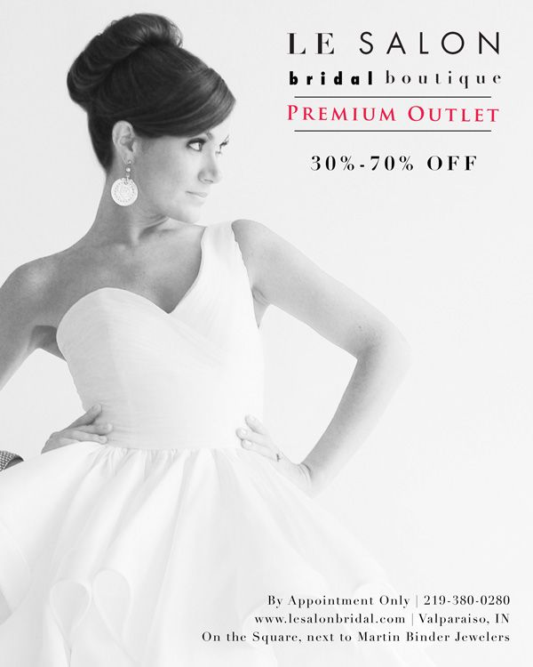outlet bridal dresses