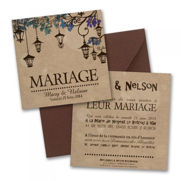 faire part mariage 44