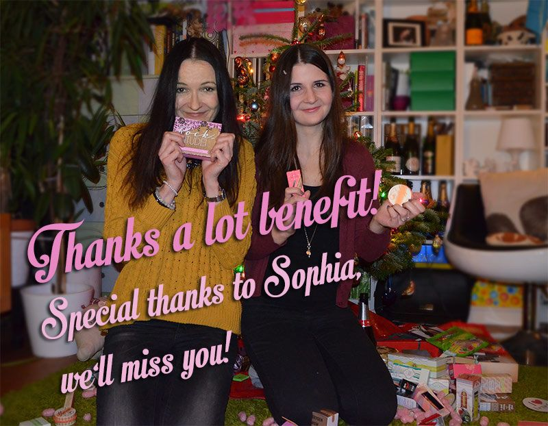 BIG XMAS SURPRISE | LOTS OF BENEFIT(S) - STYLEPEACOCK | CHRIS' WORLD OF STYLE | stylepeacock