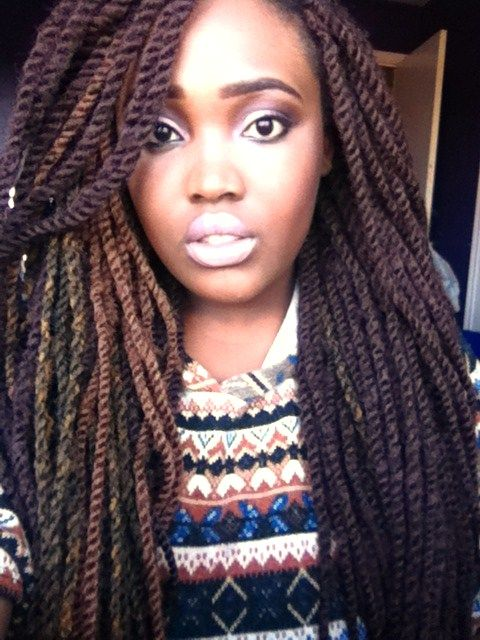 Marley Twists - Love this look!! I really want this style ...